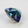 6628 Подвеска Сваровски Треугольник Crystal Bermuda Blue (12 мм)
