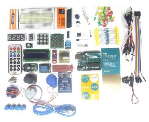 Arduino UNO KIT — электронный конструктор и удобная платформа разработки электронных устройств для новичков и профессионалов