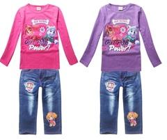 Щенячий патруль комплект детский футболка и джинсы
