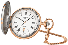 Карманные часы Tissot T862.410.29.013.00 Savonette Quartz