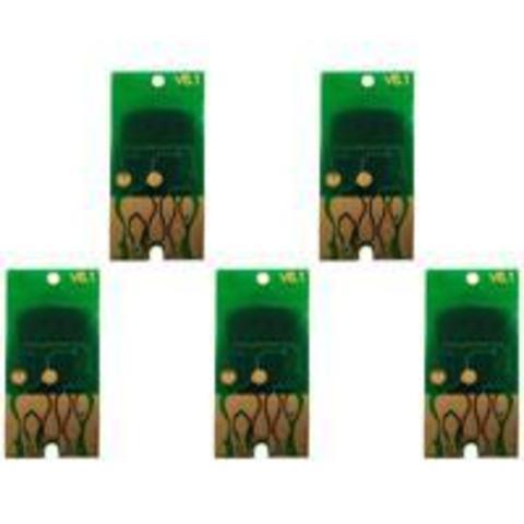 Чипы для Epson Stylus Pro 7700 и 9700 (комплект 5 цветов)
