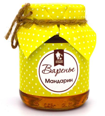 "Варенье ""Мандарин"" Добрые традиции, 375 г"