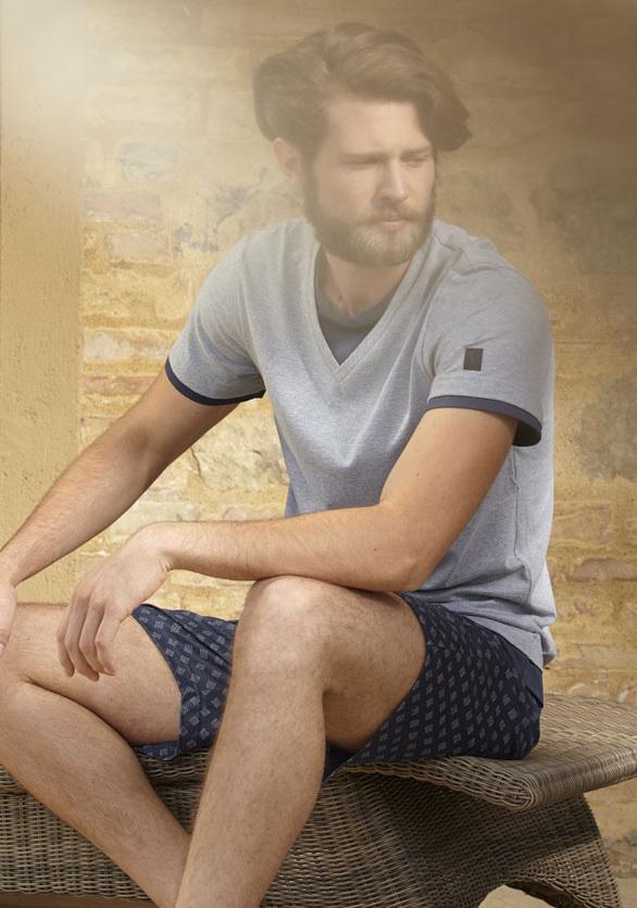 Хлопковая мужская пижама Verdiani (Домашние костюмы и пижамы)