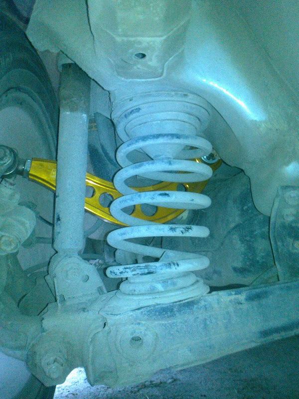 Регулируемые верхние рычаги Honda Civic 4d