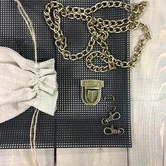Комплект фурнитуры Baguette - бронза