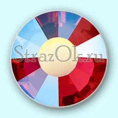 Купите зеркальные термо стразы Siam AB Сиам АБ красные в интернет-магазине