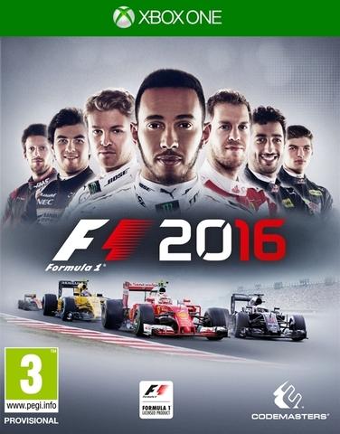 Microsoft Xbox One F1 2016 (русская версия)