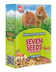 Корм для хомяков с орехом Seven Seeds