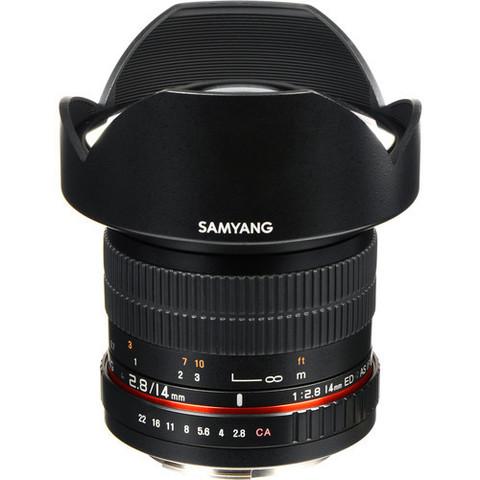Объектив Samyang 50mm f/1.4 AS UMC для Canon EF