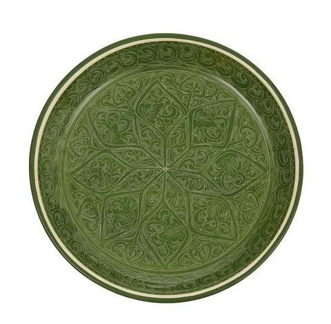 Риштанский Ляган плоский зеленый