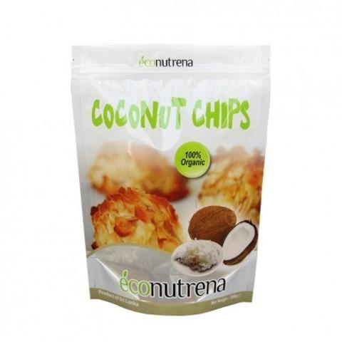 Econutrena чипсы кокосовые органические 150 г