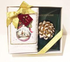 Набор Новый год SNOWBELL 30х50  Tivolyo Home Турция