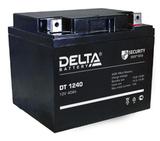 Аккумулятор Delta DT 1240 ( 12V 40Ah / 12В 40Ач ) - фотография