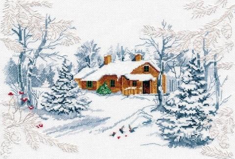 oven-1025 Сказка зимнего леса