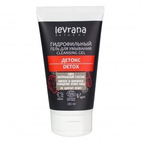 Гель для умывания Детокс (гидрофильный), 150мл (Levrana)