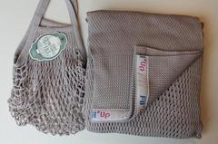 Слинг-шарф, Filt, Fil'Up, серый, (с сумкой), S,M,L,XL