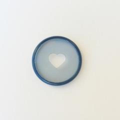 Диски- крепежный механизм для ежедневника Create 365 Planner Discs - Clear Teal - 3.3 см