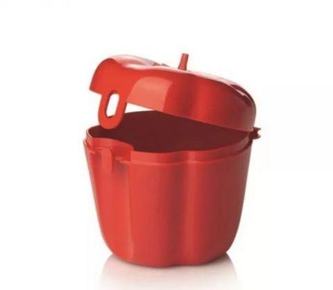 Перец контейнер в красном цвете