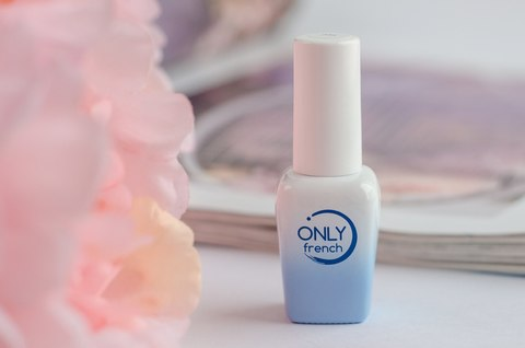 Гель-лак Only French, Blue Touch №728, 7ml