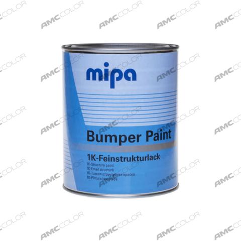Mipa Структурная краска для бампера (черная) 0,5л