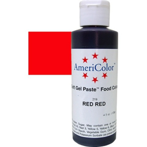Americolor Red Red 127 гр