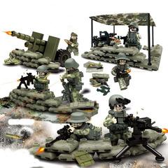 Минифигурки Военных Армия США Артиллерия серия 103
