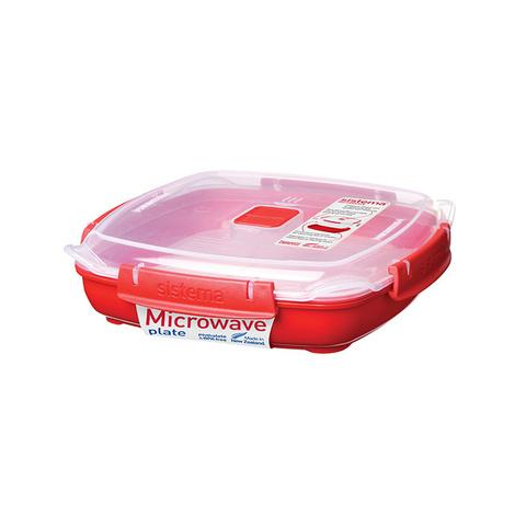 Контейнер низкий Microwave, 880  мл
