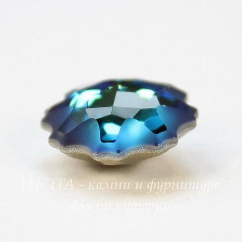 4195 Ювелирные стразы Сваровски Медуза Crystal Bermuda Blue (14 мм)
