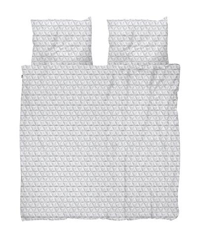 Комплект постельного белья Оригами серый 200x220см, Snurk