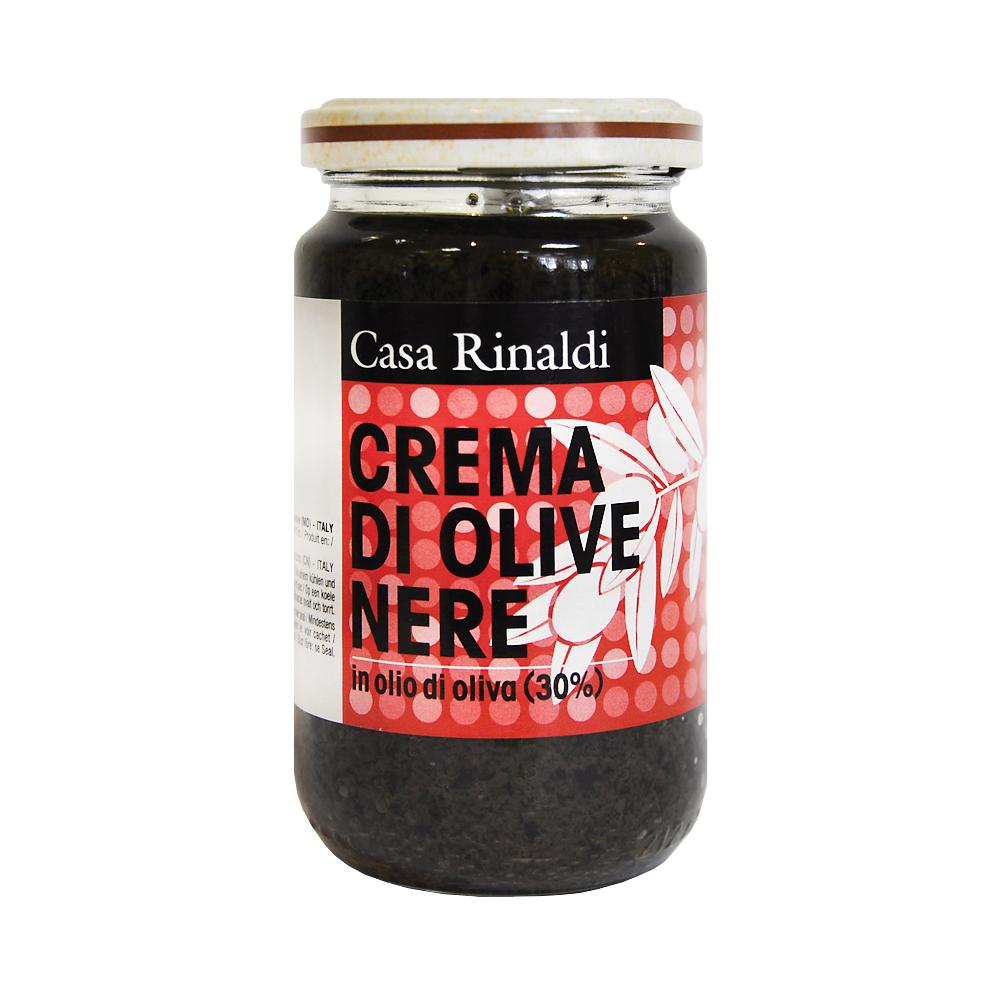 Крем-паста Casa Rinaldi из маслин в оливковом масле 180 г