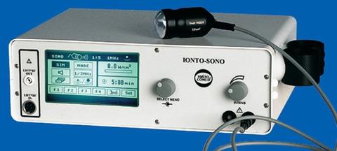 Многофункциональный комбайн для ультразвуковой терапии IONTO SONO