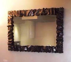 кованое зеркало   30 -10 ( ART-METAL )