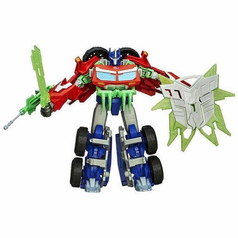 Робот - трансформер Прайм Вояджер Оптимус Прайм  ( Voyager Optimus Prime) - Охотники на чудовищ, Hasbro