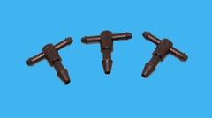 Тройник-шип для микротрубки 3х4,5х3 мм