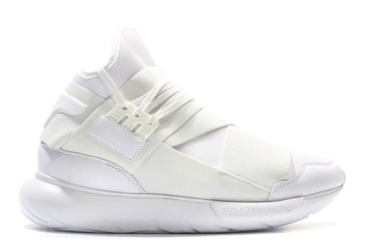 Adidas Y-3 Qasa Racer High Men (All White) (014)