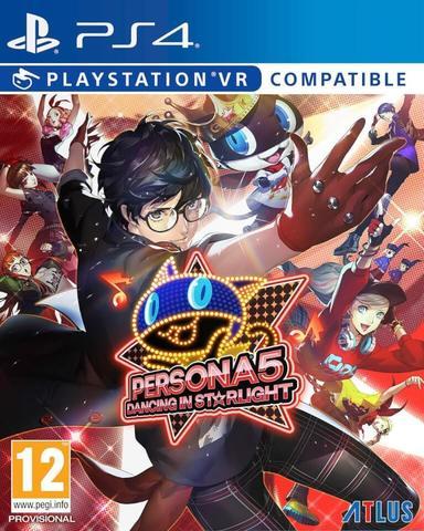 PS4 Persona 5: Dancing in Starlight (с поддержкой PS VR, английская версия)