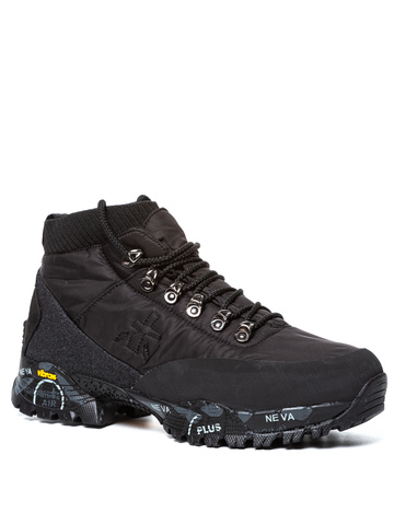 Текстильные ботинки Premiata Loutreck 0113 на шнуровке