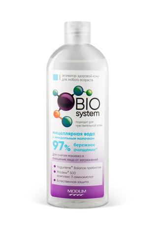 Modum Bio System Мицеллярная вода с миндальным молочком 350 мл