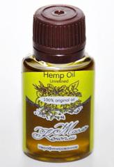 Косметическое масло КОНОПЛИ/ Hemp  Oil  Unrefined / нерафинированное/ 20 ml