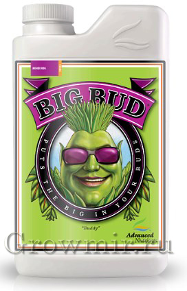 Стимулятор для роста и цветения Big Bud Liquid (0.25мл, 0.5л, 1л или 5л)