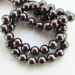 5810 Хрустальный жемчуг Сваровски Crystal Iridescent Purple круглый 8 мм , 5 шт