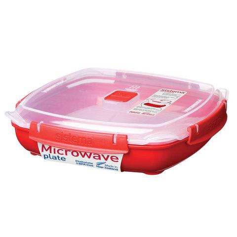 Контейнер низкий Microwave, 1,3 л