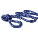 Трос швартовый Ø10 мм/ 9 м, темно-синий