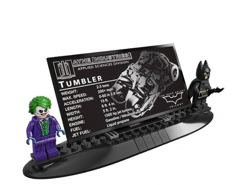 LEGO Super Heroes: Бэтмобиль Тумблер 76023