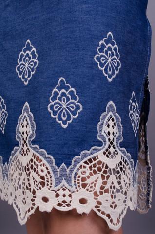 Айва. Оригінальна сукня великих розмірів. Джинс.