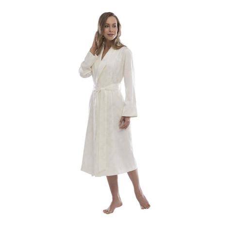 HAMPTON кремовый женский халат Tivolyo Home Турция