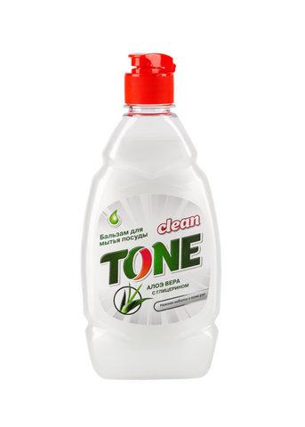 Sellwin Pro  Clean Tone Бальзам для мытья посуды Алое вера с глицерином 450мл