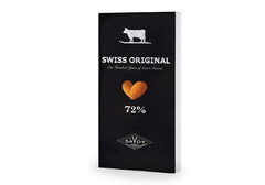 Горький шоколад с миндалём Swiss Original, 100г
