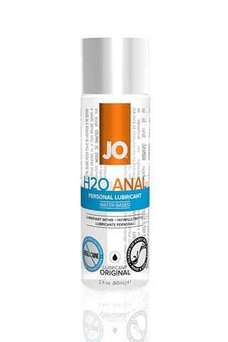 Анальный лубрикант на водной основе JO Anal H2O, 2 oz (60мл.) фото