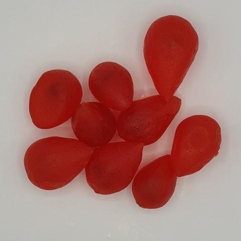 Груша целая красная Цукаты IRCA, 250 гр